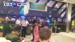 Mỹ: Sân bay hỗn loạn vì hủy chuyến (VOA60).