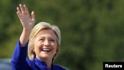 Umukandida waba Demokrate Hillary Clinton