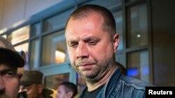Le premier ministre autoproclamé de Donetsk, Alexandre Borodaï, qui possède la nationalité russe, est frappé de nouvelles sanctions (Photo Reuters)