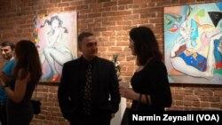 Azərbaycanlı rəssam Emin Quliyev
