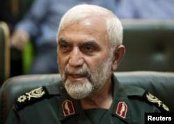 FILE - Iranian General Hossein Hamedani, killed in Syria by Islamic State fighters.
