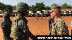 Les Etats Unis d'Amérique appuient le Niger dans le cadre du contrôle de ses frontières, à Mainé Soroa dans la région de Diffa, Niger, 5 septembre 2016. (VOA/Abdoul-Razak IDRISSA)