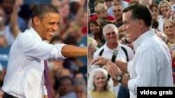 Predsednik Obama i republikanski kandidat Mit Romni u susretima sa biračima