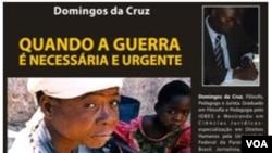 Angola book quando a guerra é ncessária e urgente de Domingos da Cruz
