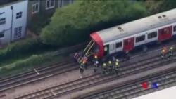 倫敦地鐵站發生爆炸至少18人受傷