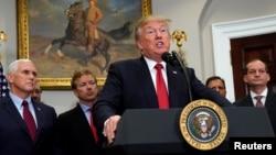 رئیس جمهوری آمریکا قصد دارد نظر خود درباره پایبندی ایران به برجام و سیاست آمریکا در قبال تهران را اعلام کند