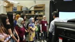 TechGirls покоряют научный мир США