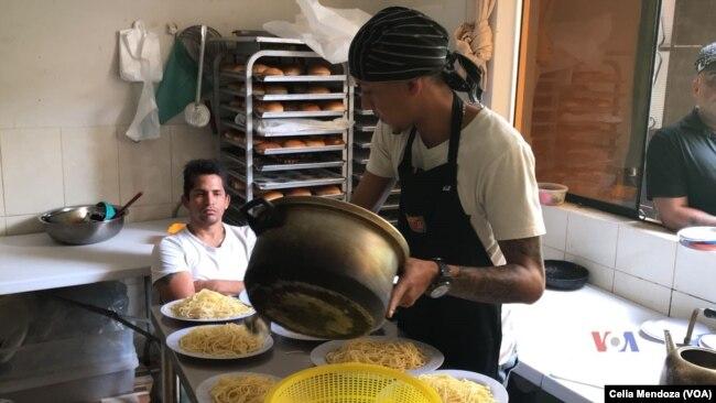 Un refugio para venezolanos abrió sus puertas en San Juan de Lurigancho, en Lima, Perú.