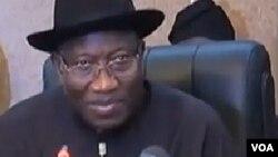 Shugaban Nijeriya Goodluck Jonathan