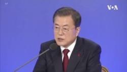 南韓總統文在寅:北韓沒有關閉對話之門