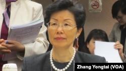 台灣陸委會主委張小月(資料照張永泰拍攝)