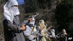 Ảnh tư liệu các chiến binh Taliban.