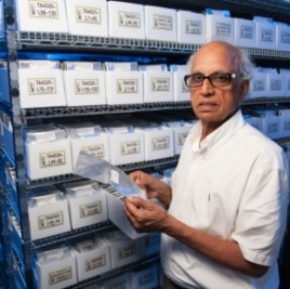 Bikram Gill runs a seed bank at Kansas State University which has supplied disease and insect resistance traits and other useful genes to wheat breeders around the world. This spring, Congress eliminated its funding.