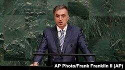 Predsednik CG Filip Vujanović u Generalnoj skupštini UN