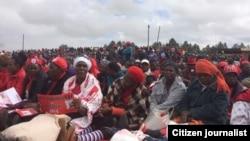 MDC-T Rally Gweru