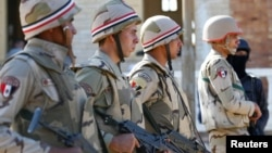 Pasukan Mesir akan terlibat dalam latihan militer bersama lima negara Arab lainnya (foto; ilustrasi).