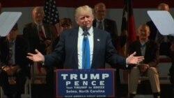 川普和克林顿继续冲刺 选民对两人皆不满
