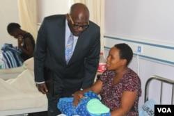 FILE: dR. David Parirenyatwa visiting Zimbabwean hospitals.