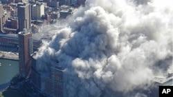 2011年美國紐約市遭受恐怖襲擊。(資料圖片)