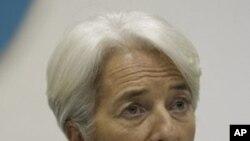 國際貨幣基金組織總裁里斯汀•拉加德(資料圖片)