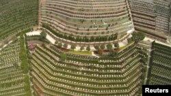 Sebuah tempat pemakaman umum di Hangzhou, Zhejiang, China (foto: ilustrasi).