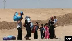 """Iračani ponovo """"bježe"""" od nasilja"""