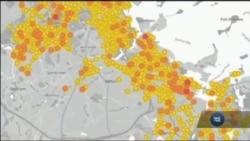 """У """"Google Street View"""" розробили деталізовані карти витоку метану із міських газопроводів. Відео"""