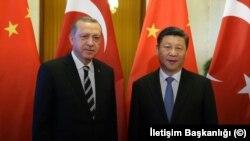 Cumhurbaşkanı Erdoğan ve Çin Cumhurbaşkanı Xi Jinping