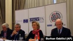 Medjunarodni posmatrači izbora u Turskoj na konferenciji za novinare u Ankari.