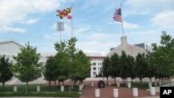 中国留学生众多的马里兰大学