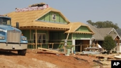 美国在建新屋
