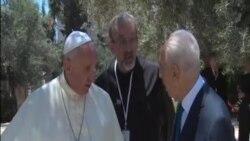 教宗邀請以巴領導人共同為和平祈禱