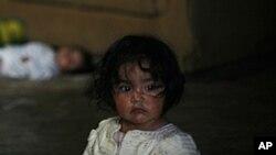 Des enfants originaires de toute l'Amérique centrale passent la frontière illégalement, dans l'espoir de rester aux Etats-Unis (Photo AP)
