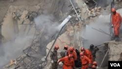 Los rescatistas afirmaron que hay escasas posibilidades de encontrar a más sobrevivientes.