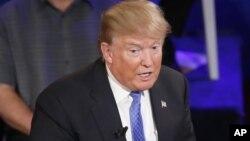 Donald Trump na jam'iyyar Republican mai neman jam'iyyarsa ta tsayar dashi takarar kujerar shugaban kasa