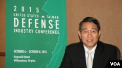 台湾国防部副部长刘震武上将(美国之音钟辰芳拍摄 )