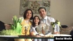 تصویری از حامد اسماعیلیون، نویسنده و پزشک ایرانی مقیم کانادا که همسر و دخترش ریرا را در سرنگونی هواپیمای اوکراینی از دست داد.