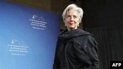 Министр финансов Франции Кристин Лагард