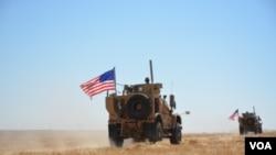 Vikosi vya Marekani kwenye mpaka wa Uturuki na Syria