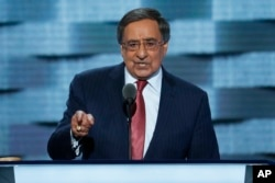 FILE - Former Defense Secretary Leon Panetta