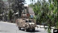 طالبانو د کندهار د والي په دفتر برید کړیدی