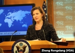 Phát ngôn viên Bộ Ngoại giao Mỹ Victoria Nuland