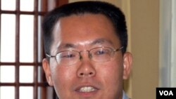 中国维权律师滕彪(资料照)