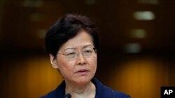 کری لم، رئیس اجرایی هنگ کنگ - آرشیو