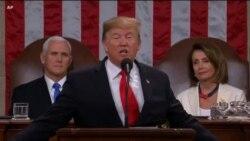 Fjalimi i Presidentit Trump dhe përgjigja e demokratëve