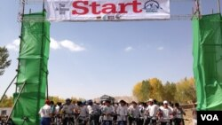ددراین مسابقه بایسکل رانی برعلاوه وزرشکاران افغان ورزشکاران کشورهای آلمان، فرانسه، هالند وناروی نیز اشتراک داشتند