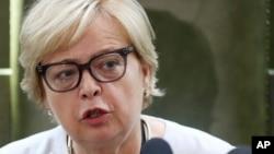 Malgorzata Gersdorf, shugabarfarko ta kotun kolin kasar Poland wadda ta ki sauka daga mukaminta bisa ga sabuwar dokar