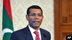 Mantan Presiden Maladewa Mohamed Nasheed (Foto: dok).
