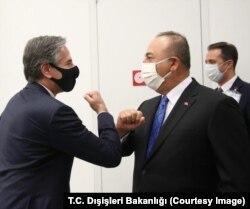 AQSh va Turkiya bosh diplomatlari Bryusselda, 23-mart, 2021