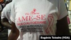 Campanha de prevenção para o cancro da mama em Cabo Verde